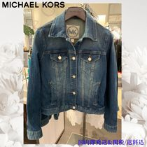 Michael Kors Casual Style Unisex Denim Jackets