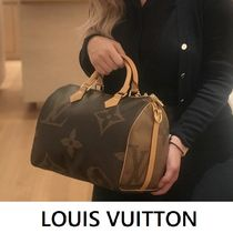 Louis Vuitton SPEEDY BANDOULIÈRE brown free handbag