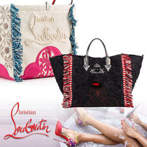 Christian Louboutin Casual Style Street Style 2WAY Clutches