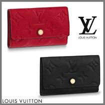 Louis Vuitton Monogram Unisex Leather Keychains & Bag Charms