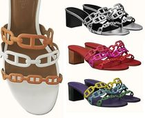 HERMES Leather Sandals Sandal