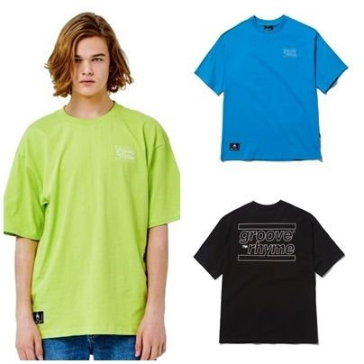 Unisex Street Style Cotton Short Sleeves Oversized T-Shirts