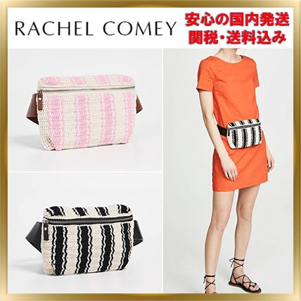 Stripes Casual Style Crossbody Shoulder Bags