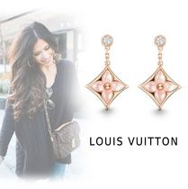 Louis Vuitton FEMININE PIERCINGS pink gold free piercings