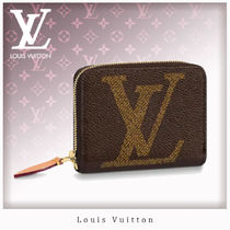 Louis Vuitton ZIPPY COIN PURSE Monogram Unisex Leather Coin Purses