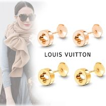 Louis Vuitton SMALL MDERN PIERCINGS pink gold, yellow gold free piercings
