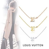 Louis Vuitton FEMININE NECKLACE pink gold, yellow gold, white gold free