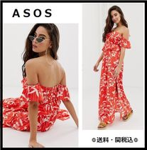 ASOS Flower Patterns Tropical Patterns Beach Cover-Ups