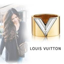 Louis Vuitton 2019-20AW ESSENTIALS LV RING gold M-L ring