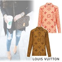 Louis Vuitton 2019-20AW MONOGRAM PRINTED SHIRT 34-40
