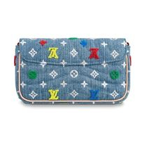 Louis Vuitton 2019-20AW COLORFUL DENIM POCHETTE denim one size bag