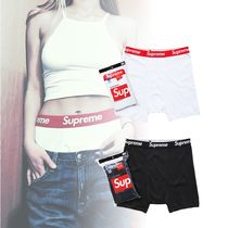 Supreme Unisex Street Style Collaboration Boxer Briefs