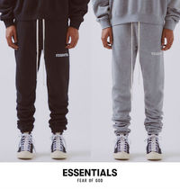 FEAR OF GOD ESSENTIALS Tapered Pants Unisex Sweat Street Style Plain Tapered Pants