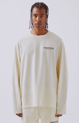 FEAR OF GOD Long Sleeve Unisex Street Style Long Sleeves Oversized 3