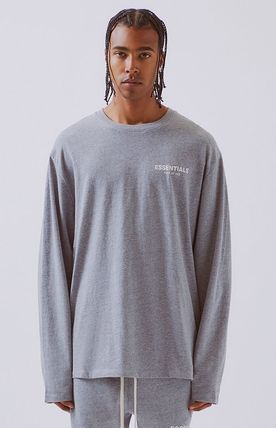 FEAR OF GOD Long Sleeve Unisex Street Style Long Sleeves Oversized 6