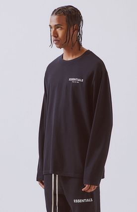FEAR OF GOD Long Sleeve Unisex Street Style Long Sleeves Oversized 11