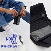 THE NORTH FACE Unisex Nylon Street Style Plain Folding Wallets