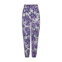 Louis Vuitton Flower Patterns Blended Fabrics Bi-color Long Pants