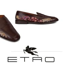 ETRO Paisley Loafers Other Animal Patterns Leather