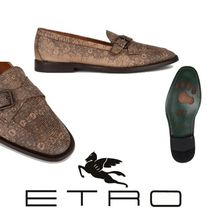 ETRO Loafers Other Animal Patterns Leather Loafers & Slip-ons