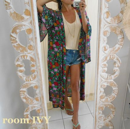 Flower Patterns Tropical Patterns Casual Style Maxi