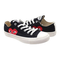 COMME des GARCONS Heart Casual Style Unisex Street Style Collaboration