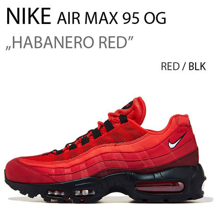 official photos af111 e3096 Unisex Suede Street Style Plain Sneakers  AIR MAX 95