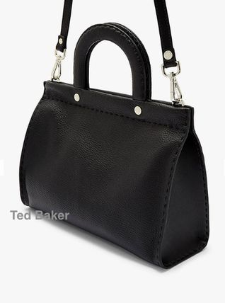 6b01a6797 TED BAKER 2019 SS Casual Style 2WAY Plain Leather Handbags by ...