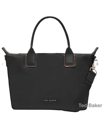 141cf9630 ... TED BAKER Handbags Casual Style Nylon 2WAY Plain Handbags ...