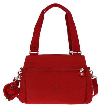 Casual Style Unisex Nylon 2WAY Plain Handbags