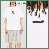 FEAR OF GOD Pullovers Street Style Cotton Short Sleeves T-Shirts