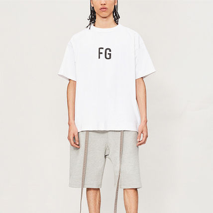 FEAR OF GOD More T-Shirts Pullovers Street Style Cotton Short Sleeves T-Shirts 4