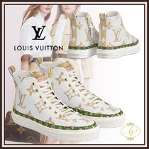 Louis Vuitton MONOGRAM Monogram Rubber Sole Casual Style Street Style