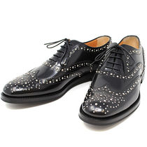 Church's Burwood Lace-up Casual Style Studded Leather Shoes