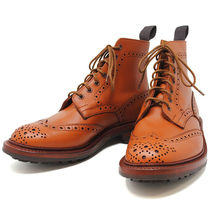 Tricker's Leather Boots