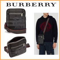 Burberry Other Check Patterns Blended Fabrics