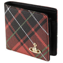 Vivienne Westwood Other Check Patterns Folding Wallets