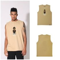 Unisex Street Style Cotton Oversized Tanks