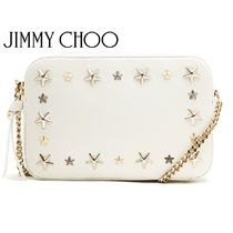 Jimmy Choo Star Casual Style Studded Shoulder Bags