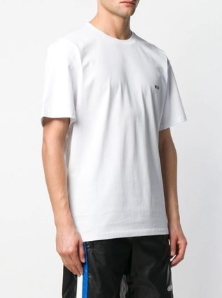 MSGM Crew Neck Crew Neck Plain Cotton Short Sleeves Crew Neck T-Shirts 7