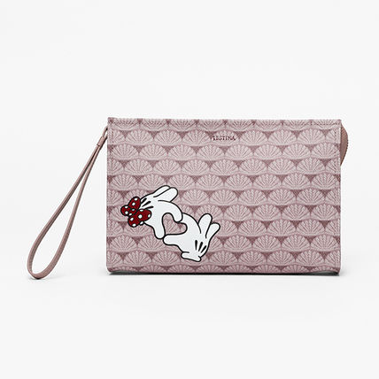 Collaboration PVC Clothing Logo Pouches & Cosmetic Bags