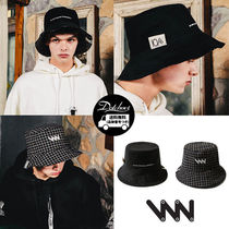 WV PROJECT Street Style Bucket Hats Wide-brimmed Hats