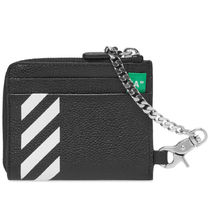 Off-White Camouflage Street Style Chain Coin Cases