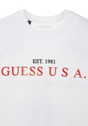 Guess More T-Shirts Street Style Short Sleeves T-Shirts 4