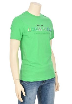 Guess More T-Shirts Street Style Short Sleeves T-Shirts 9