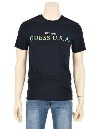 Guess More T-Shirts Street Style Short Sleeves T-Shirts 11