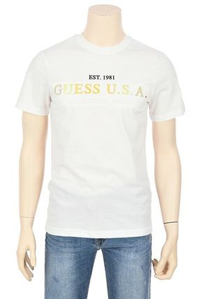 Guess More T-Shirts Street Style Short Sleeves T-Shirts 12
