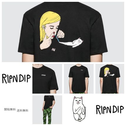 RIPNDIP More T-Shirts Unisex Street Style Short Sleeves T-Shirts 12