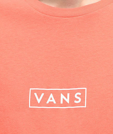 VANS Crew Neck Crew Neck Street Style Cotton Short Sleeves 3