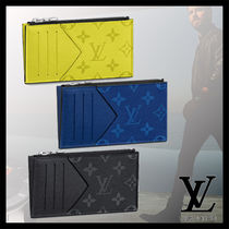 Louis Vuitton MONOGRAM Monogram Leather Coin Cases